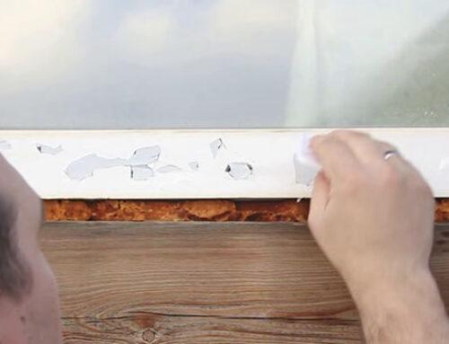 Как снять защитную пленку с ПВХ окна и остатки клея?